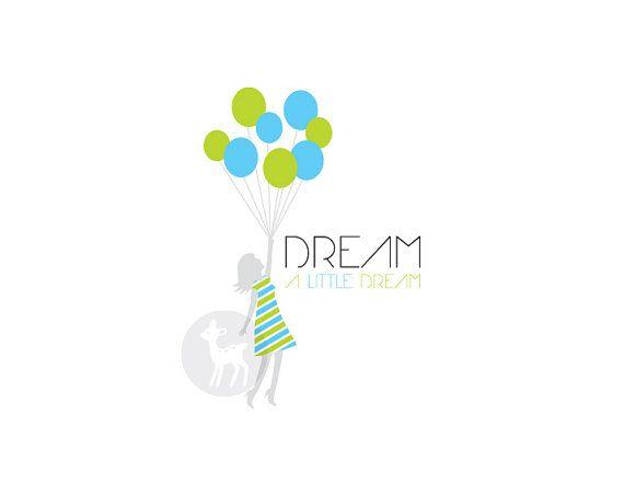Balloon Logo Design 75 00 Available At The Etsy Shop
