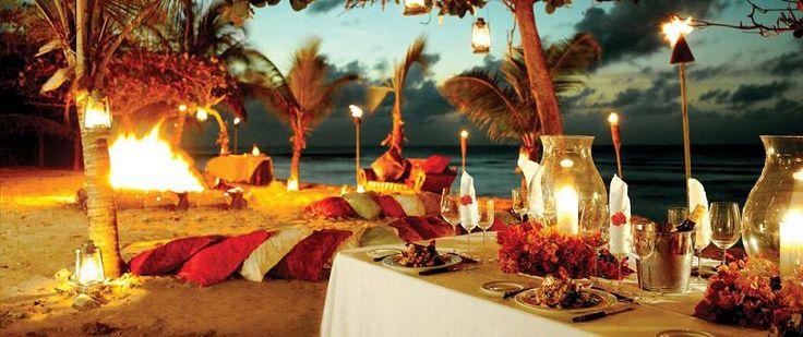 Awesome!Dinner, Islands Parties, Bonfires, Private Island, Beach Wedding Receptions, British Virgin Islands, Romantic Places, Beach Parties, Necker Islands