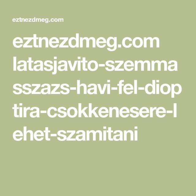 eztnezdmeg.com latasjavito-szemmasszazs-havi-fel-dioptira-csokkenesere-lehet-szamitani