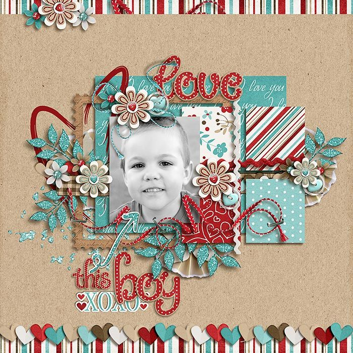 JDS-Love-This-Boy-700x700 scrapbook page layout