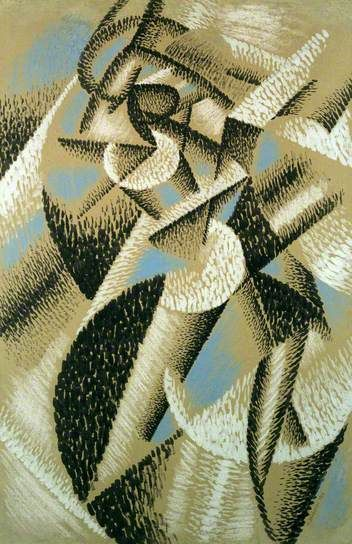 Dancer (Ballerina + Sea) by Gino #Severini, 1913 estorick