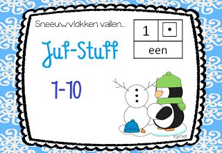 Juf-Stuff: Kleimatten winter 1-20