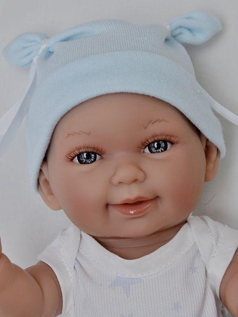 Realistické miminko chlapeček Mico v bodíčku od firmy Vestida de Azul