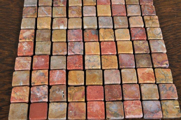 RED mozaika kamienna SQUARE marmur INDUSTONE 3x3 (3967349841) - Allegro.pl - Więcej niż aukcje.