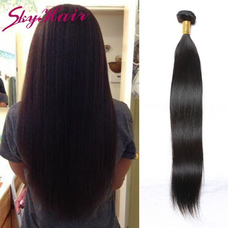 peruvian virgin hair straight 1pc lot 7a peruvian straight remy human hair weave crochet hair extensions sky hair weave