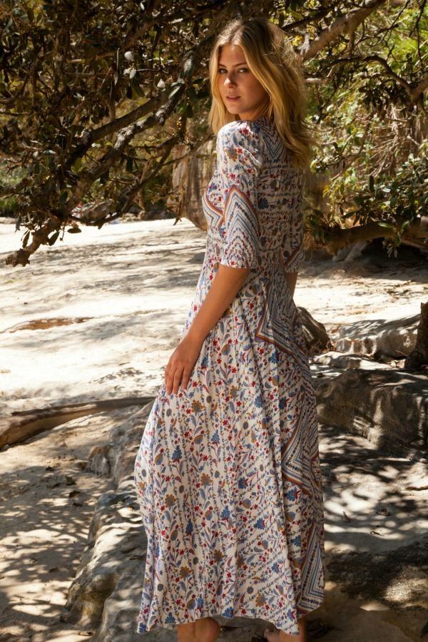 Jaase - Indiana Dress - Hyacinth