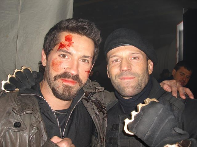 Scott Adkins (Juri Bokja) and Jason Statham