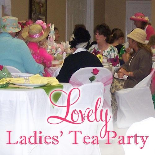 Ladies Tea Themes Jerusalem House