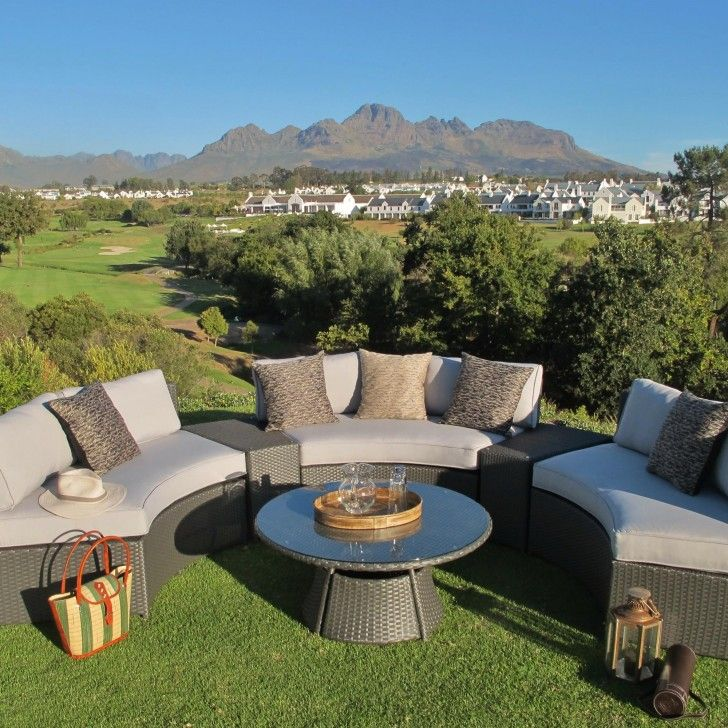 TERRACE LIVING | Boma Set in Grey - Furniture - 5rooms.com