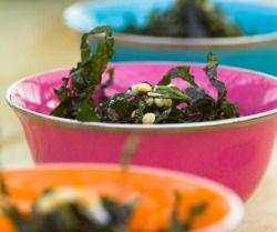 Kale seaweed recipe