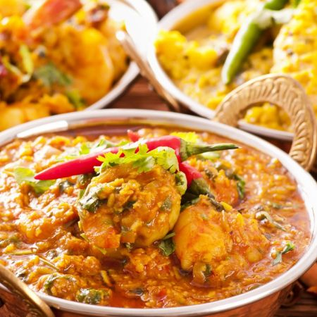 Taj Indian Restaurant - Indian - Have some authentic Indian food spiced just right yet comes in big portions that would truly satisfy at Taj Indian Restaurant