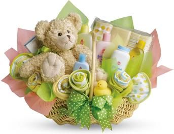 New Baby Flowers and Gift Ideas