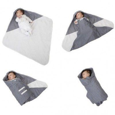 Ce nid d'ange de la marque Little Dutch protège du froid et tient le bébé bien au chaud.    Idéal aussi bien à l'intérieur qu'à l'extérieur, pour emmener, par exemple, le bébé bien au chaud jusqu'à son berceau ou dans sa poussette.