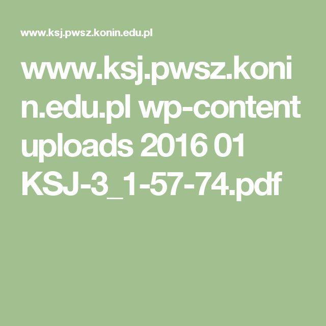 www.ksj.pwsz.konin.edu.pl wp-content uploads 2016 01 KSJ-3_1-57-74.pdf