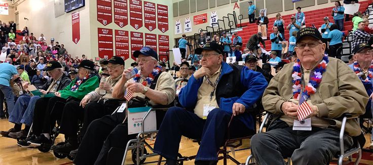 Americans Honoring Veterans- Veterans from three different wars spent part of the day in the nation's capital thanks to the Honor Flight.