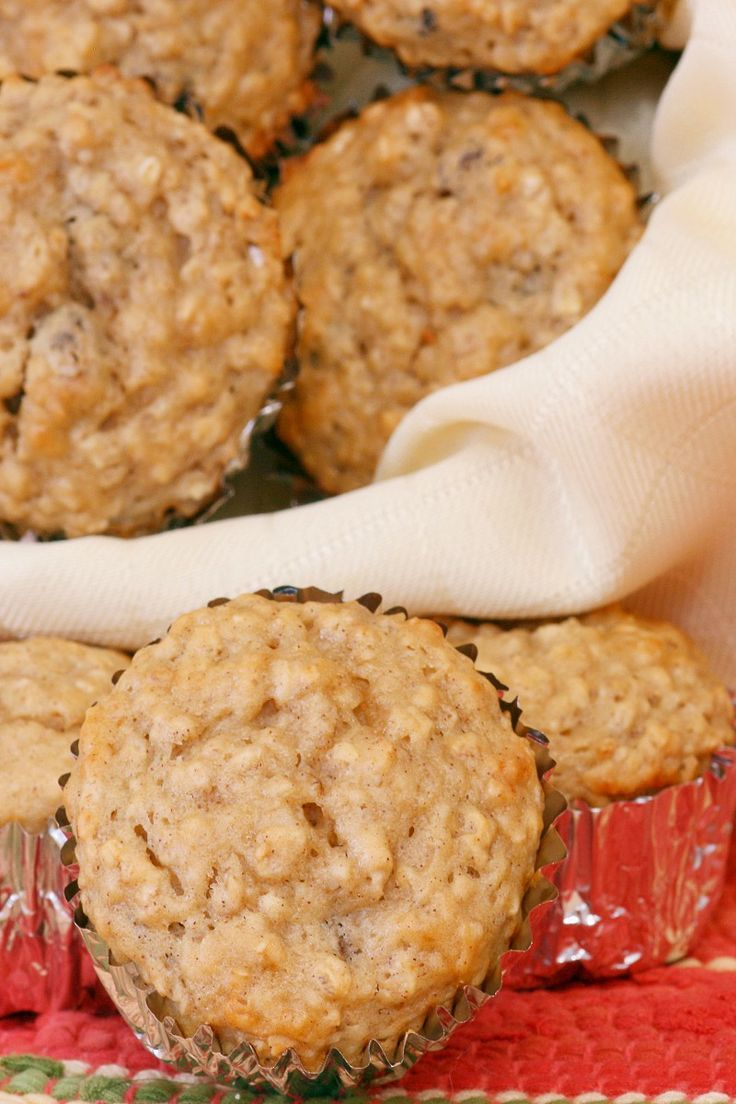 Weight Watchers Apple Oatmeal Muffins Recipe- halved recipe and made six muffins