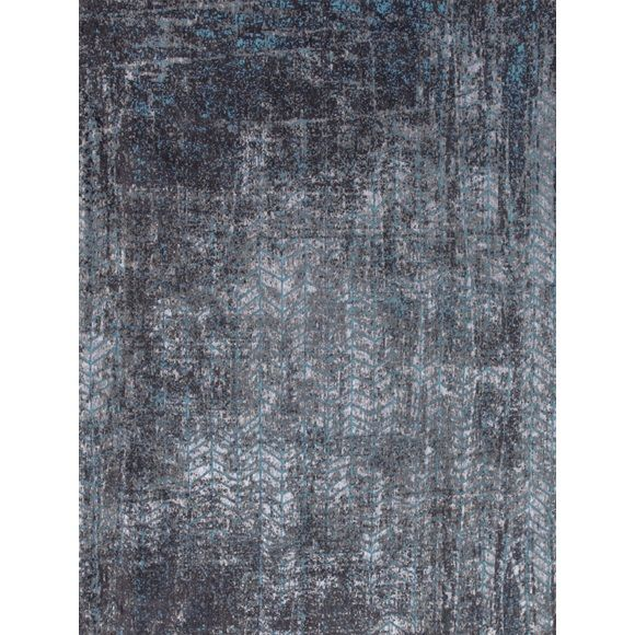 Louis de Poortere Mad Men Brooklyn Blue 8424 - 140 x 200 cm