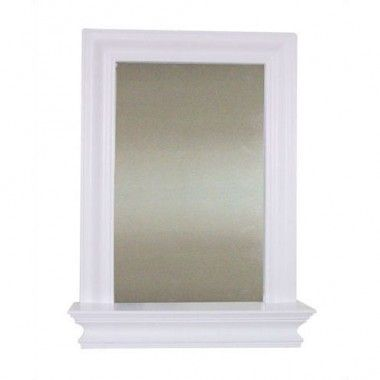Elegant Home Fashions Stratford Wall Mirror with Shelf - 6650