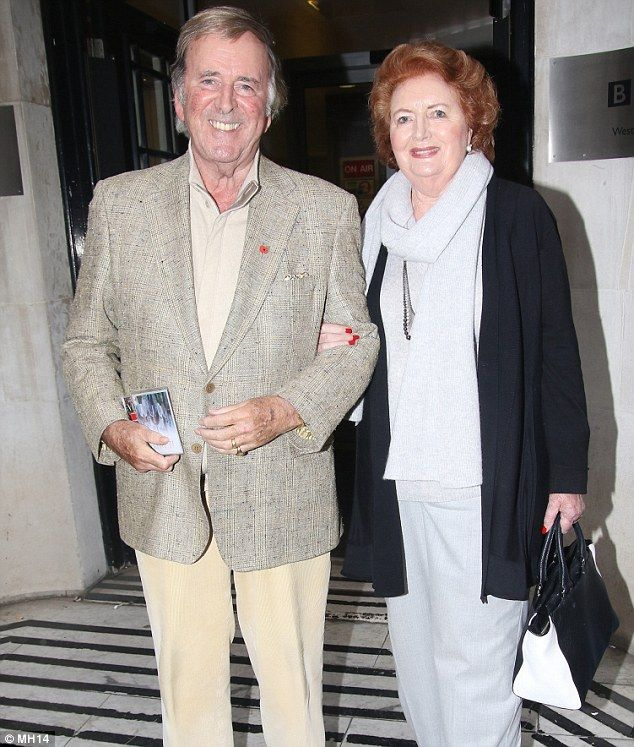 Veteran broadcaster Sir Terry Wogan has died aged 77 following a short battle with cancer, his family said today. This is the last photograph thought to have been taken in public of the presenter. He is pictured with his wife Helen outside the BBC Radio 2 studios after appearing on the Terry Wogan Show on November 8
