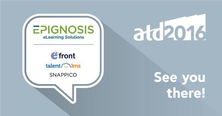 Epignosis announces Bronze Sponsorship of the ATD 2016 Exposition #ATD #2016 #Epignosis
