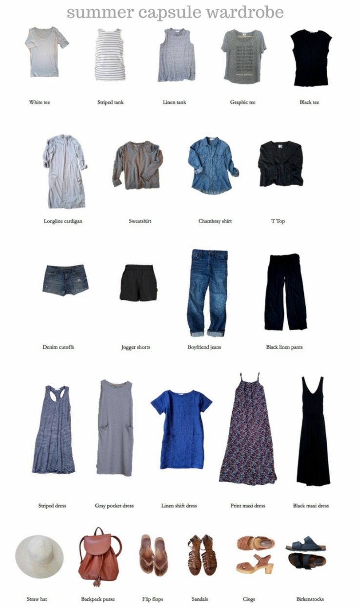 18496 Best Images About Capsule Wardrobe On Pinterest