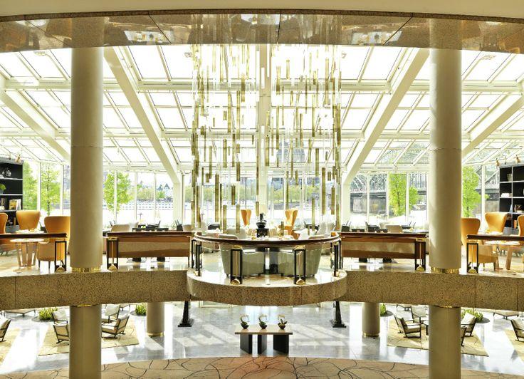 Glashaus Restaurant in the Hyatt Regency Cologne