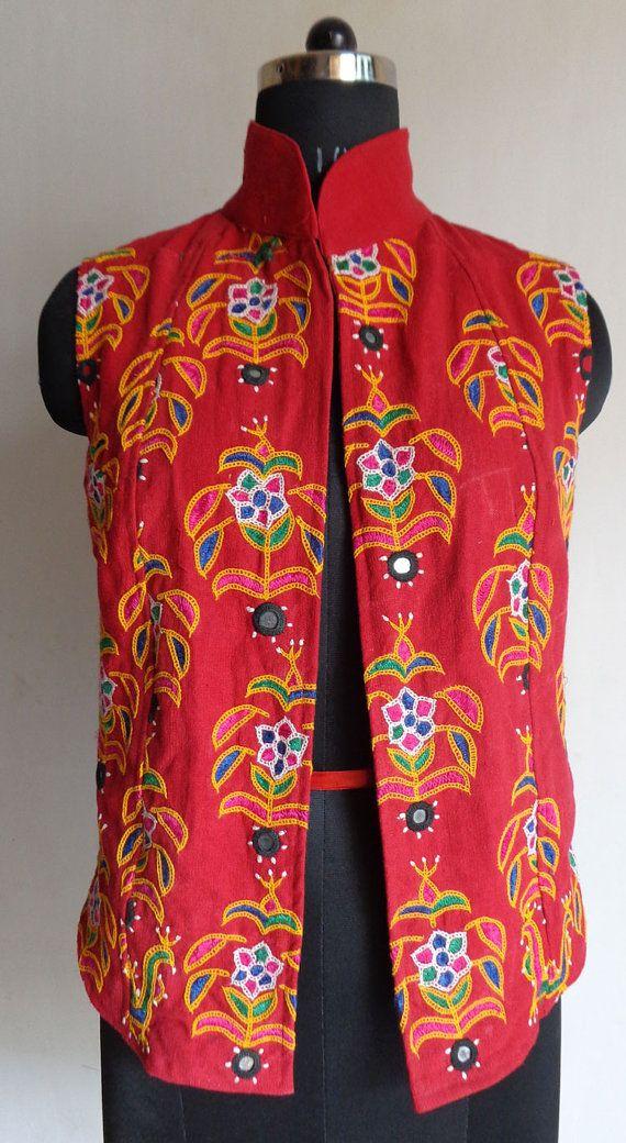 Vintage jacket ethnic kutchi handmade
