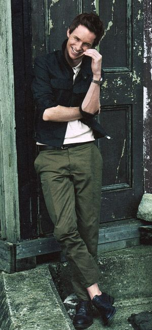 Eddie Redmayne | The Danish Girl finally swayed me.