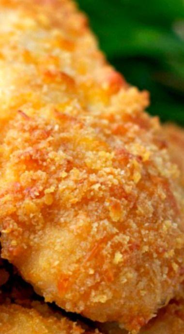 Ritzy Baked Chicken Tenders