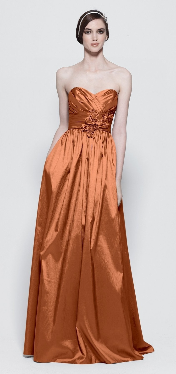 Bright Copper...LOVE this color for a fall wedding!!