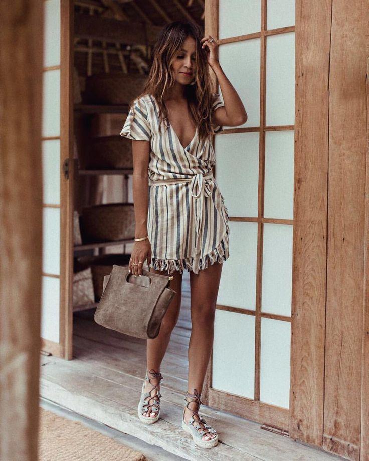 "JULIE SARIÑANA on Instagram: ""Bali diaries. wearing @soludos / Ph. by @grantlegan"""