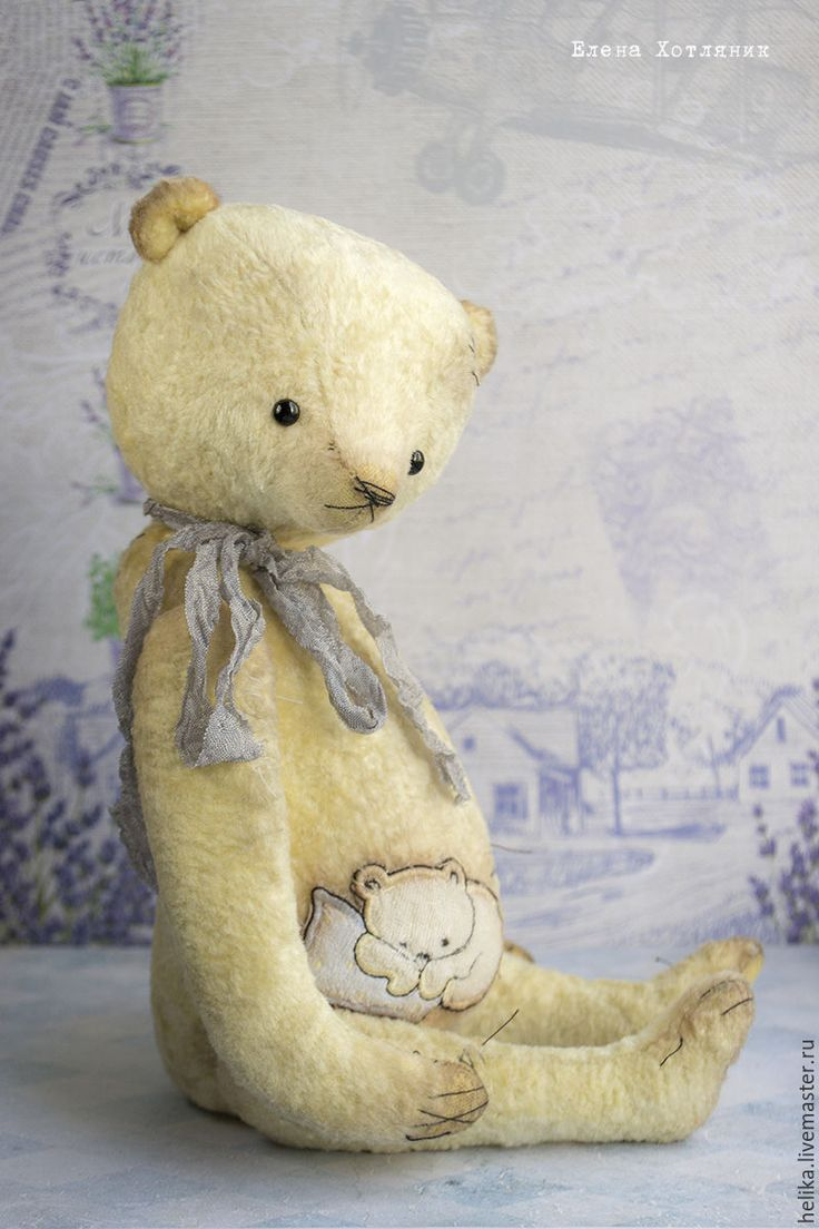 Купить Выкройка медведя little Lily - выкройка, выкройка pdf, выкройка мишки Тедди