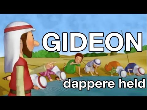Gideon dappere held (met tekst) - Elly Zuiderveld - YouTube