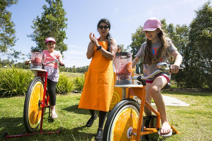 Sydney - October 8, 2016: Sydney Rides The Park cycling event, Sydney Park (photo by Jamie Williams/City of Sydney)