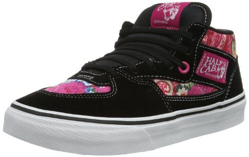 Vans Half Cab Black Multi Womens Trainers Size 65 US * Find out more about the great product at the image link.