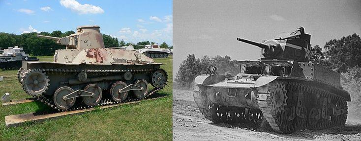 America's first tank vs tank battle of World War II: Japanese Type 95 tank vs US M3 Stuart tank in Bataan Peninsula