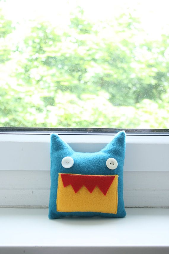 Tooth Fairy Pillow Toy Patrick by HappyMonstersLand on Etsy, $18.00