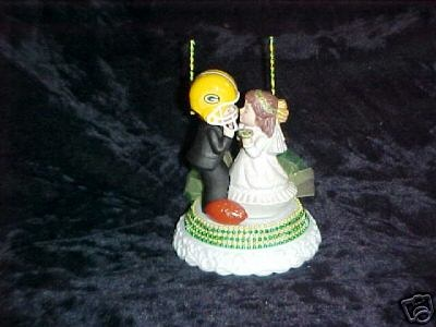 green bay packers wedding cake topper new green bay packers wedding cake topper wedding 14965
