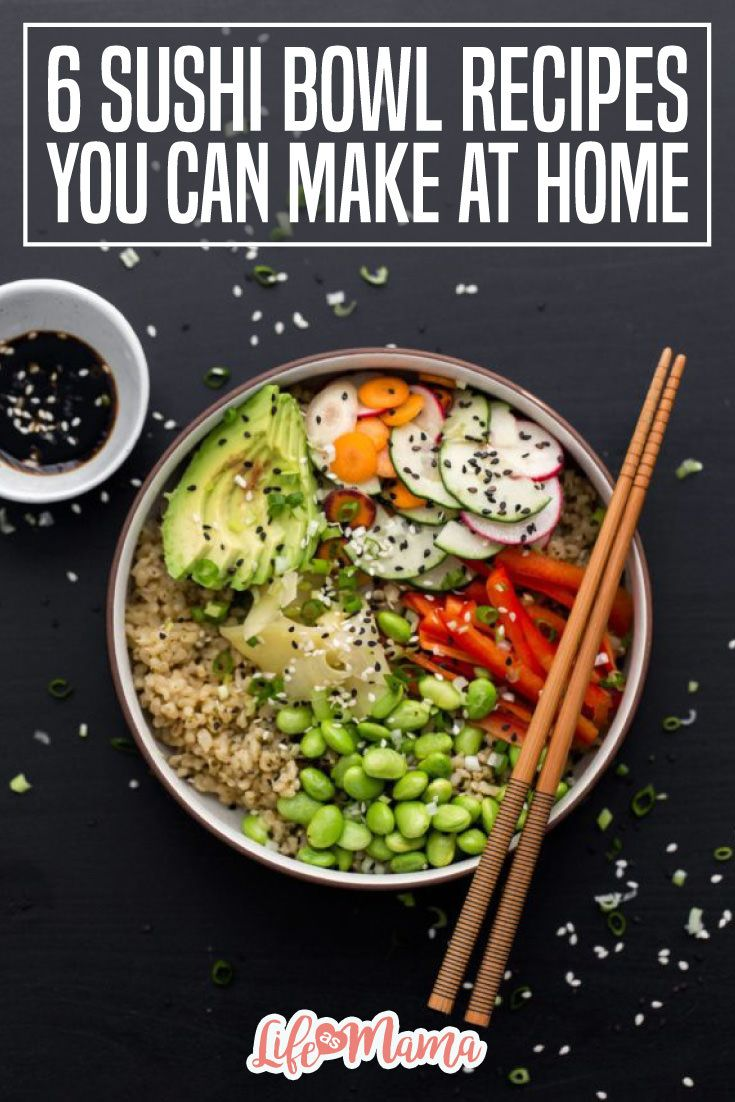These sushi bowl recipesmay not be wrapped in seaweed or prepared by a world-renowned chef but they are super easy for you to create, always safe to eat, and crazy delicious!