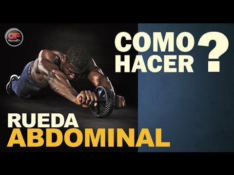 Como hacer Abdominales con Rueda - TECNICA Y EJECUCIÓN!!! - YouTube