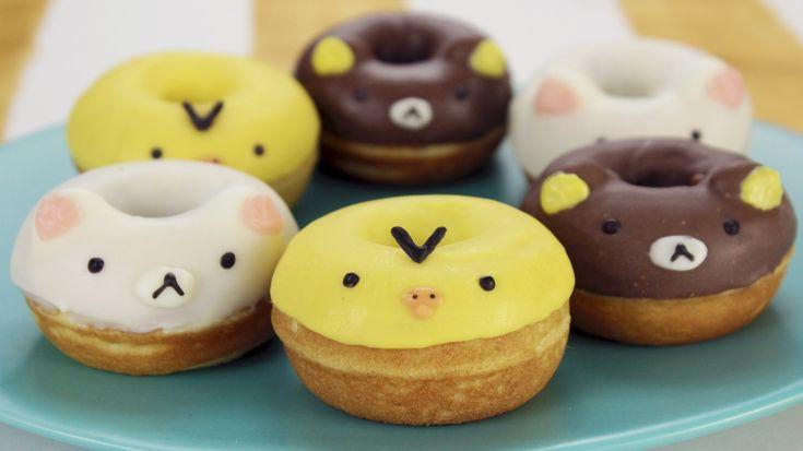 How to Make Rilakkuma Donuts! - I can already imagine doing so many different designs~