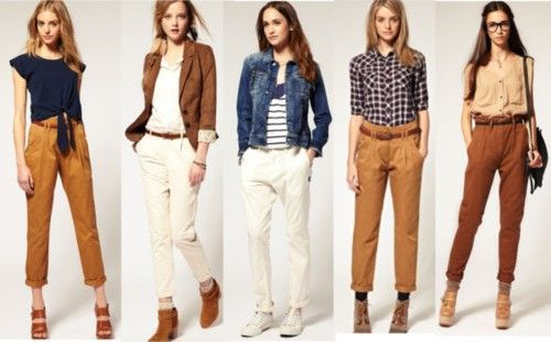 chinos for women - Google Search                                                                                                                                                                                 More