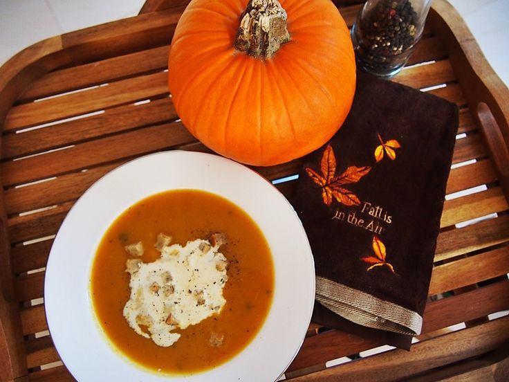 Krem / zupa z dyni