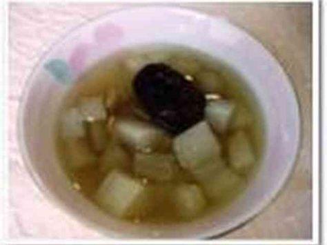 風邪を引いたら!梨と大根スープ 風邪引きさんにおススメ! 咳に効く薬膳スープを簡単にアレンジしてみました♪ のどにもお腹にも優しいデザートです。