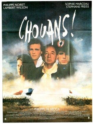 Affiche du film Chouans ! de Philippe de Broca avec Philippe Noiret et Sophie Marceau