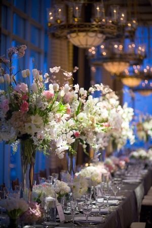 #Royal blue #wedding reception ... Wedding ideas for brides, grooms, parents & planners ... https://itunes.apple.com/us/app/the-gold-wedding-planner/id498112599?ls=1=8 … plus how to organise an entire wedding, without overspending ♥ The Gold Wedding Planner iPhone App ♥