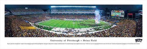 Pitt University Panthers Panoramic Photo Print