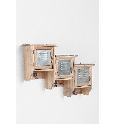 Reclaimed Wood Locker Shelf: Urbanoutfitters, Reclaimed Wood, Urban Outfitters, Locker Shelves, Wood Locker, Locker Shelf, Wooden Locker, Woods, Lockers