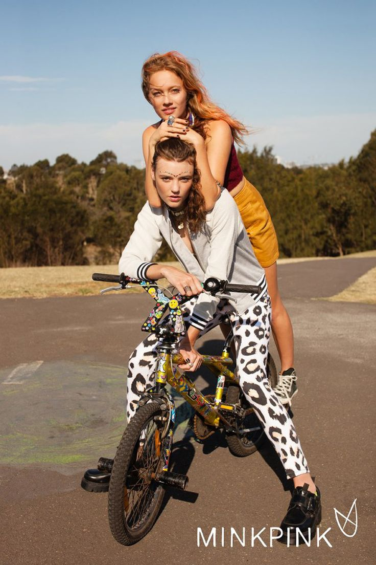 Minkpink's Bike Party of a Lookbook - 2013