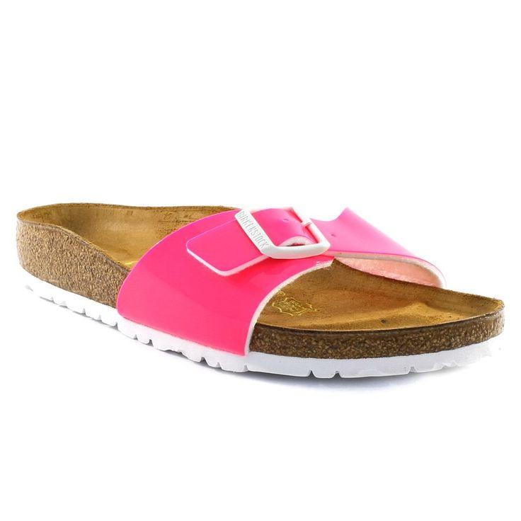 797A BIRKENSTOCK MADRID NEON ROSE www.ouistiti.shoes le spécialiste internet  #chaussures #bébé, #enfant, #fille, #garcon, #junior et #femme collection printemps été 2016